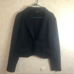 Torrid Crop Black Blazer